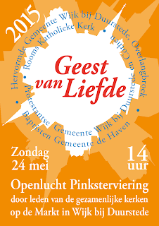 Poster Pinksterviering 2015