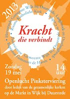 Poster Pinksterviering 2013